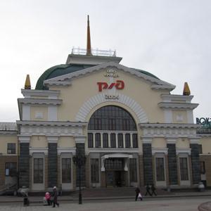 Железнодорожные вокзалы Нижних Сергов